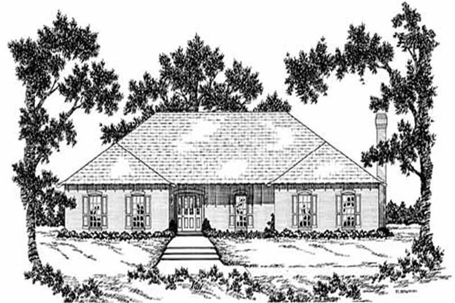 Main image for house plan # 7922