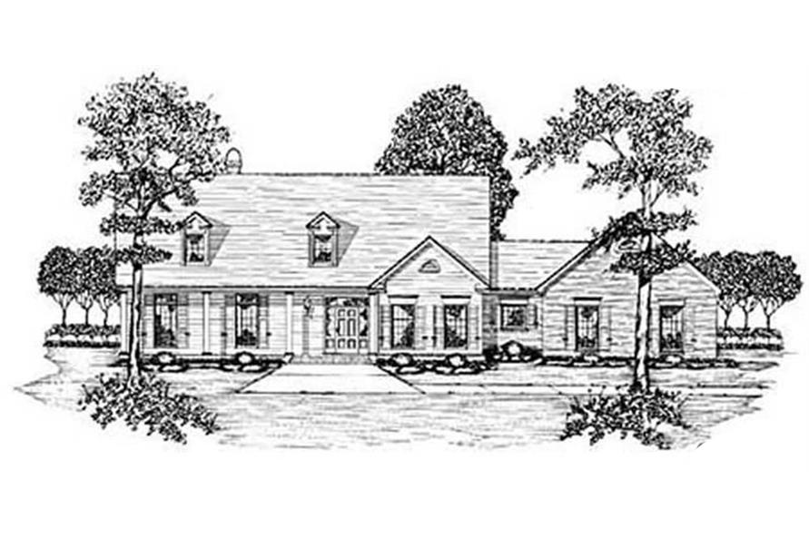 Main image for house plan # 7921