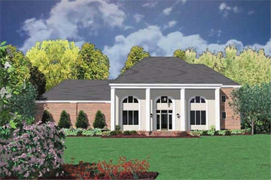 5-Bedroom, 2962 Sq Ft Colonial House Plan - 139-1073 - Front Exterior