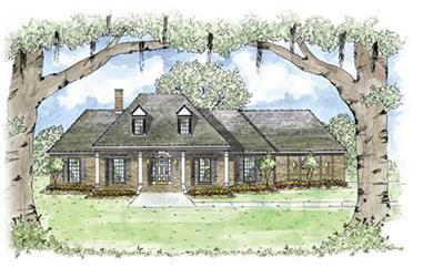 3-Bedroom, 2349 Sq Ft Colonial House Plan - 139-1075 - Front Exterior
