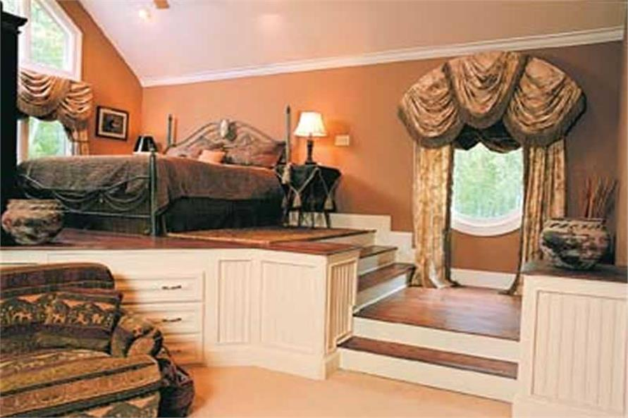 Master Bedroom of this 3-Bedroom,2764 Sq Ft Plan -2764