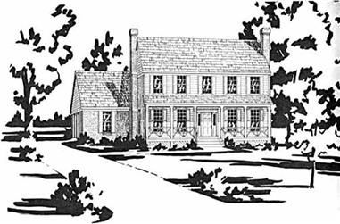 3-Bedroom, 2287 Sq Ft Country House Plan - 139-1085 - Front Exterior
