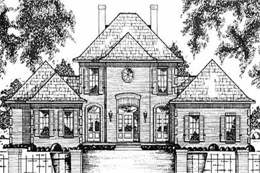 Main image for house plan # 7916