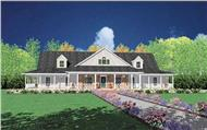 Main image for house plan # 7914