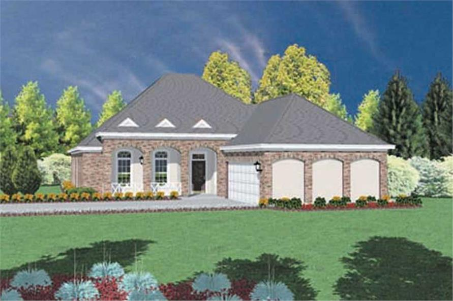Main image for house plan # 8000