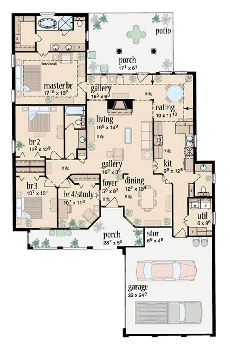 Contemporary house plans home design slate springs 8000 for 8000 sq ft house plans