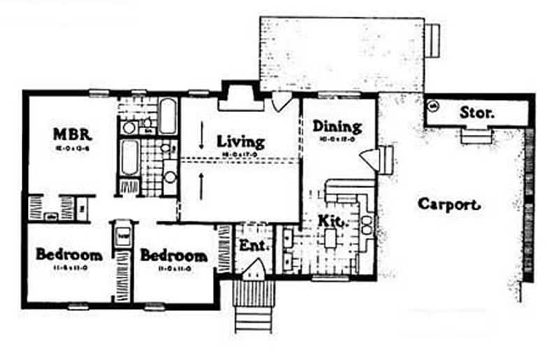 Small ranch house plans home design ph12 053 8024 for How much is 1100 square feet