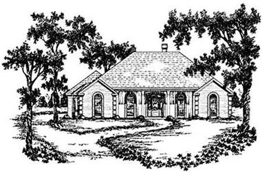3-Bedroom, 2374 Sq Ft Colonial House Plan - 139-1108 - Front Exterior