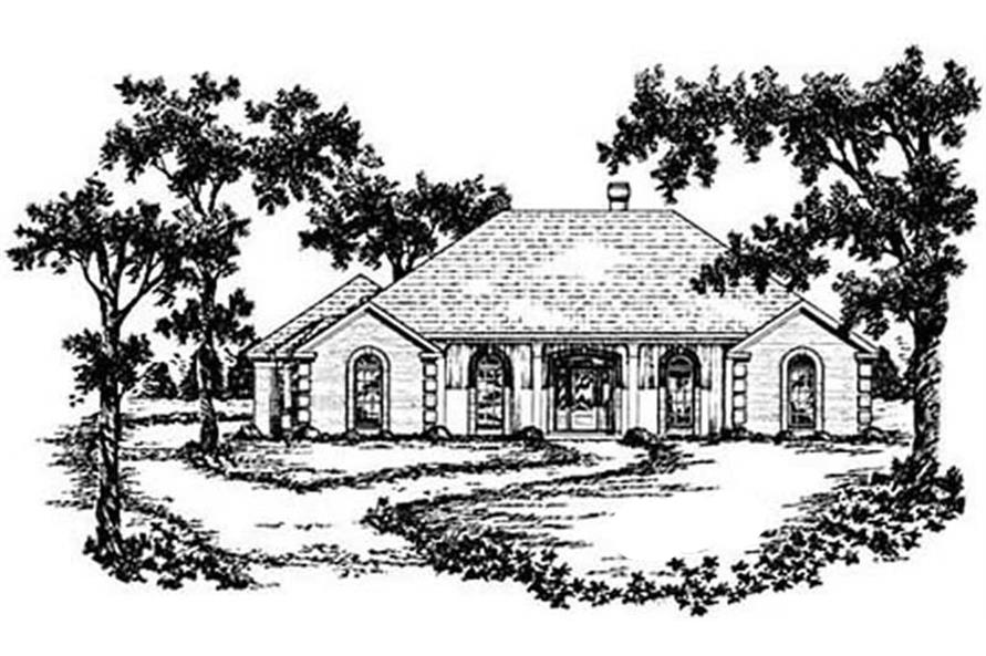 Main image for house plan # 7970