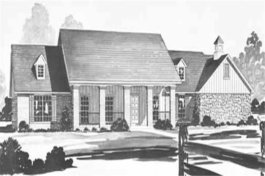 Main image for house plan # 7982