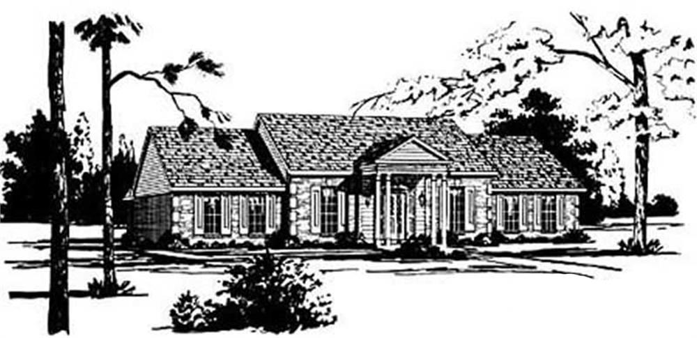 Main image for house plan # 7981