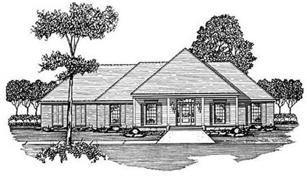 Main image for house plan # 8003