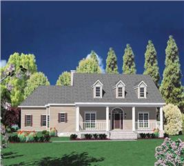 House Plan #139-1126