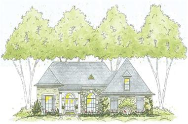 3-Bedroom, 1773 Sq Ft House Plan - 139-1138 - Front Exterior