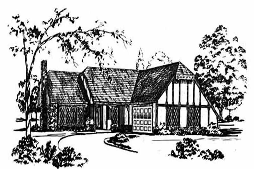Main image for house plan # 8047