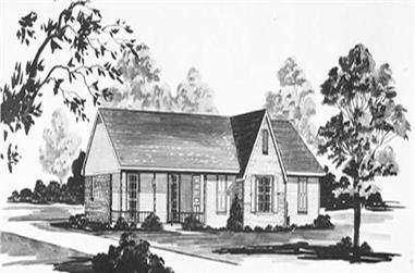 3-Bedroom, 1400 Sq Ft Ranch Home Plan - 139-1146 - Main Exterior