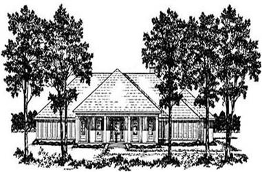 4-Bedroom, 2352 Sq Ft Colonial House Plan - 139-1154 - Front Exterior