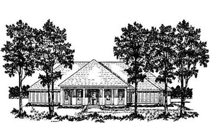 Main image for house plan # 7972