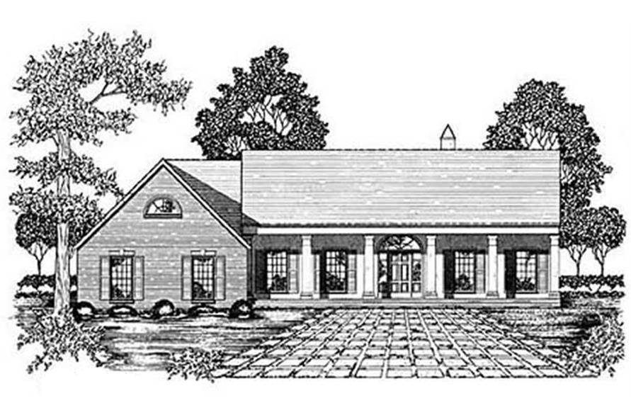 Main image for house plan # 7969