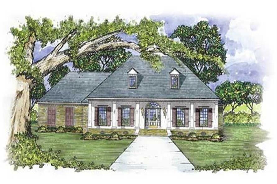 3-Bedroom, 2127 Sq Ft Colonial House Plan - 139-1157 - Front Exterior
