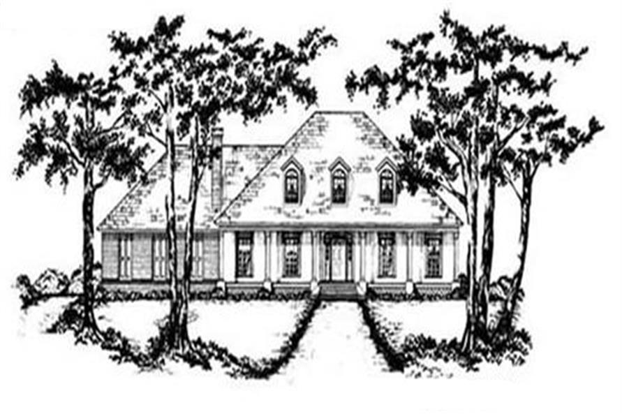 Main image for house plan # 7971