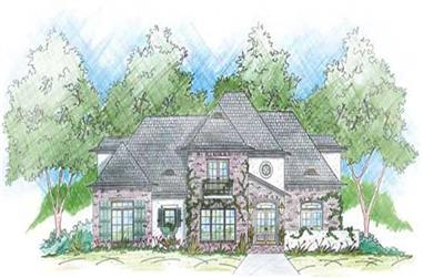 4-Bedroom, 2688 Sq Ft House Plan - 139-1161 - Front Exterior