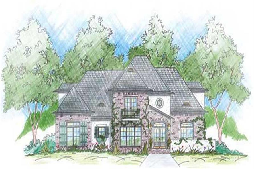 Main image for house plan # 9649