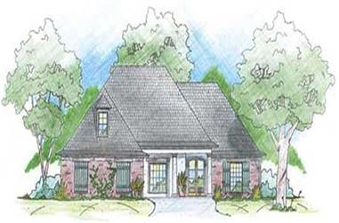 3-Bedroom, 2115 Sq Ft House Plan - 139-1169 - Front Exterior