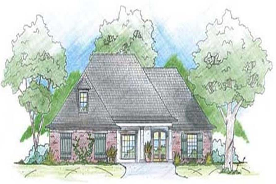 Main image for house plan # 9639