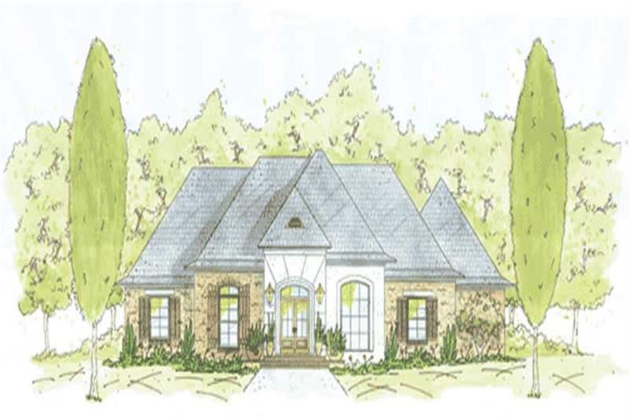4-Bedroom, 2261 Sq Ft House Plan - 139-1173 - Front Exterior