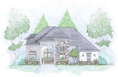3-Bedroom, 2895 Sq Ft Cape Cod Home Plan - 139-1175 - Main Exterior