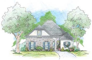 3-Bedroom, 2081 Sq Ft House Plan - 139-1188 - Front Exterior