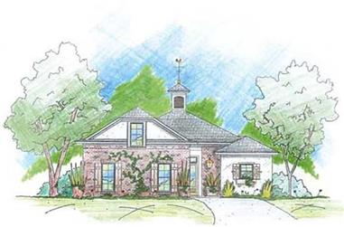 3-Bedroom, 2081 Sq Ft House Plan - 139-1189 - Front Exterior
