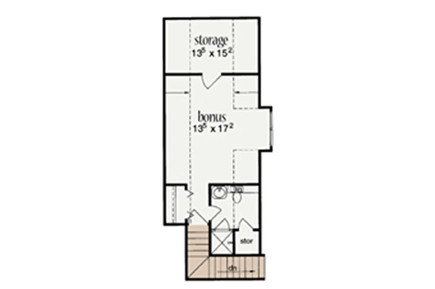 Home Plan Rendering of this 4-Bedroom,2704 Sq Ft Plan -139-1201