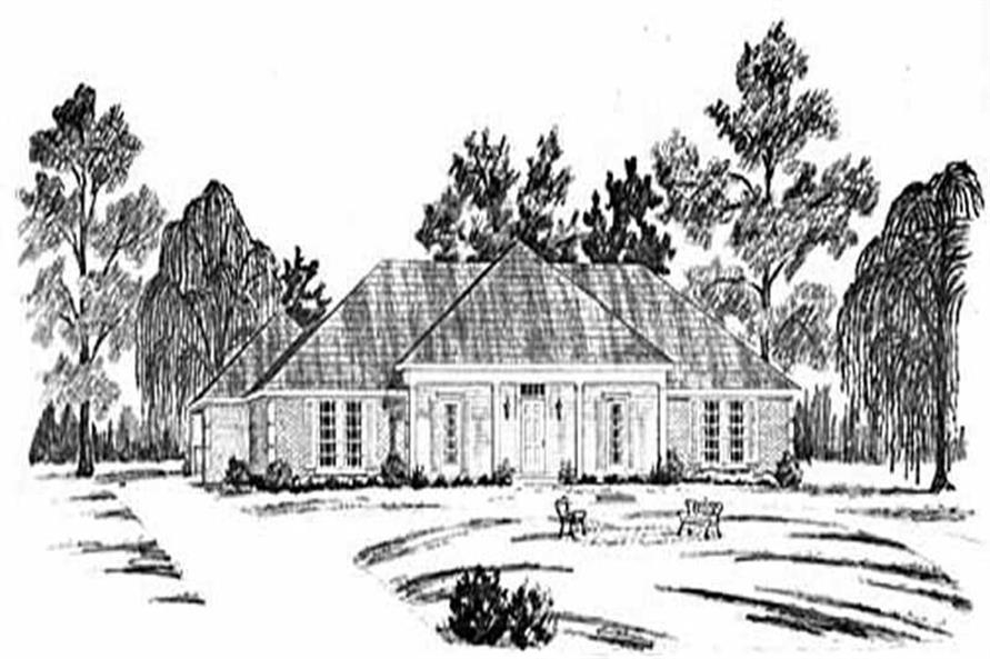 3-Bedroom, 2130 Sq Ft Colonial House Plan - 139-1202 - Front Exterior