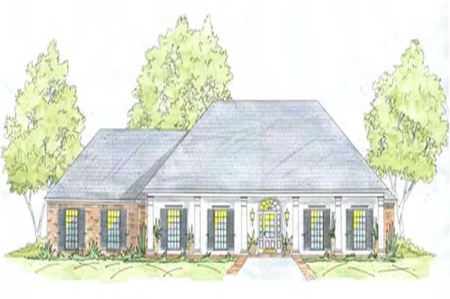 Main image for house plan # 9635