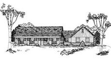Main image for house plan # 8048