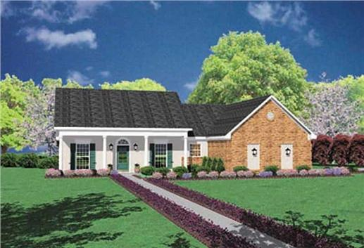 Main image for house plan # 8039