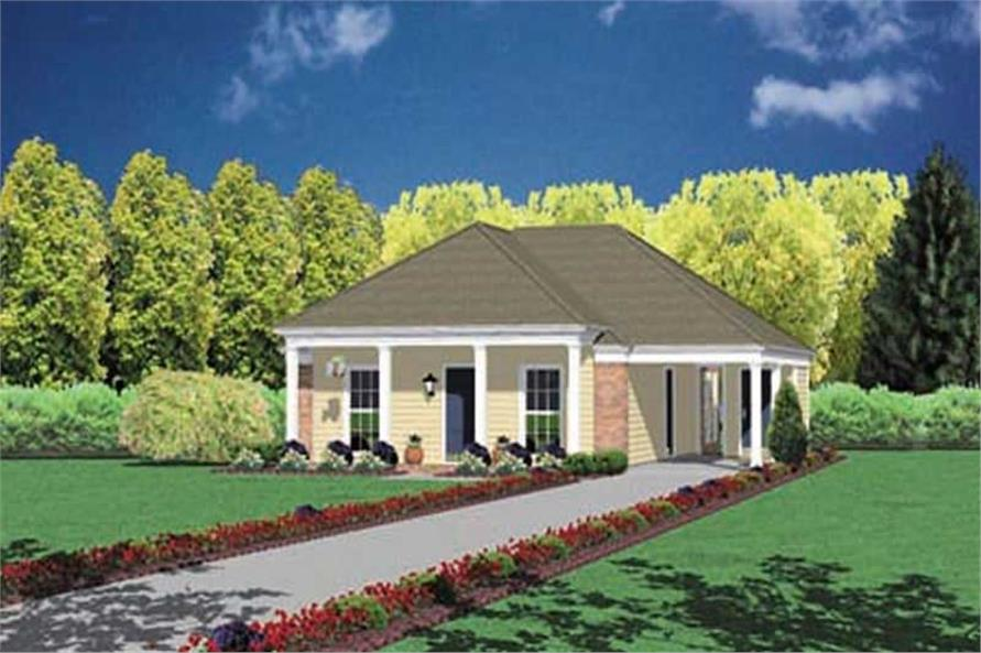 Main image for house plan # 8015