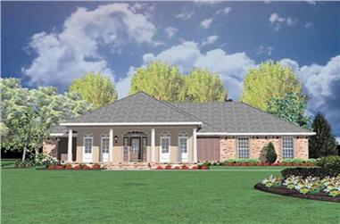 4-Bedroom, 2088 Sq Ft Farmhouse House Plan - 139-1212 - Front Exterior
