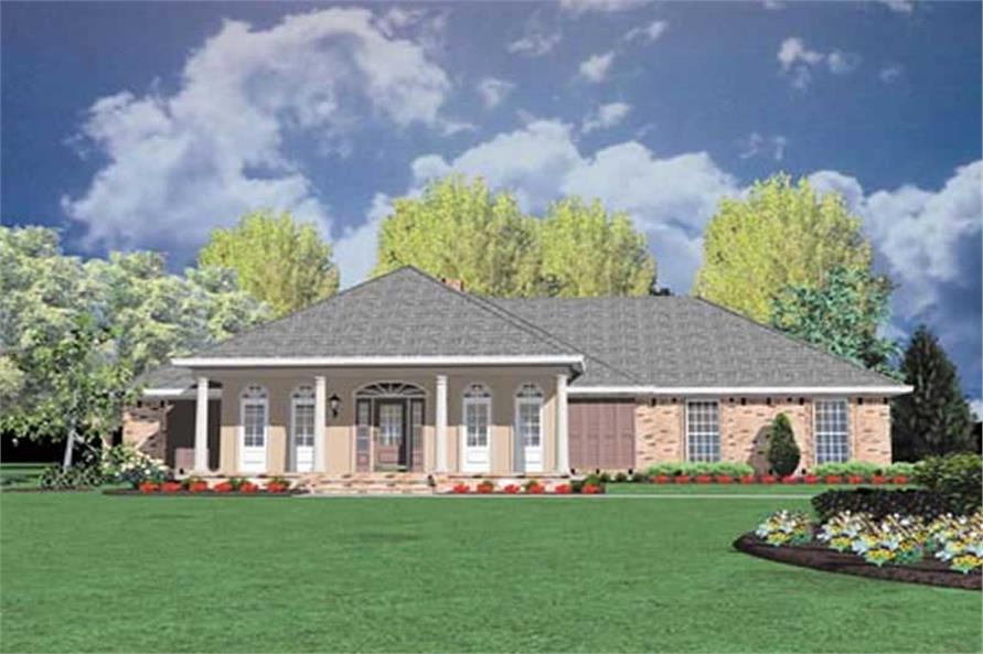 Main image for house plan # 8059