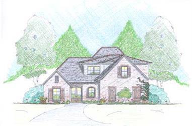 4-Bedroom, 2615 Sq Ft Cape Cod Home Plan - 139-1215 - Main Exterior