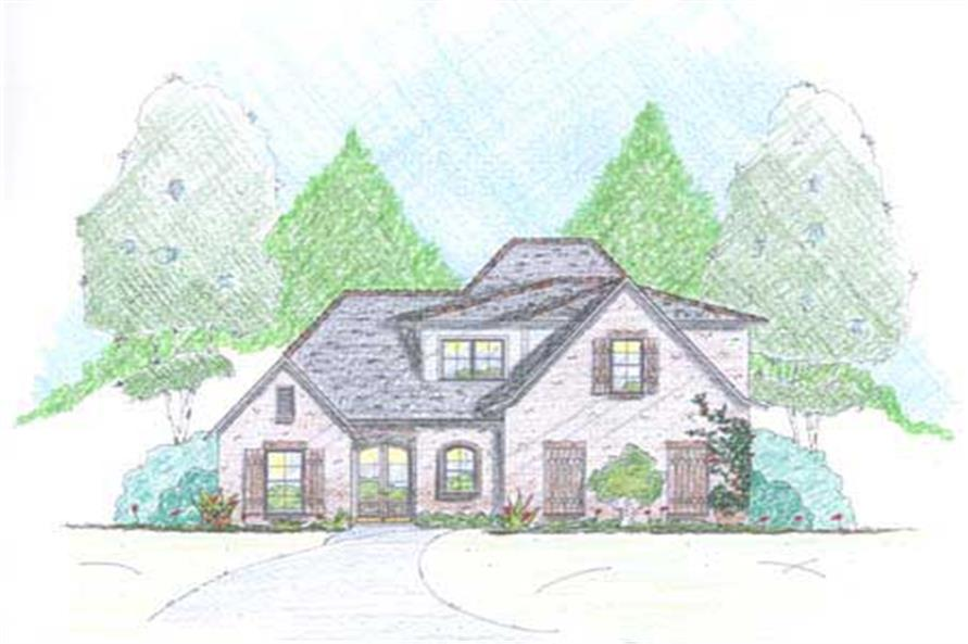 4-Bedroom, 2615 Sq Ft Cape Cod Home Plan - 139-1215 - Main Exterior
