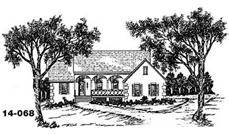 Main image for house plan # 8056