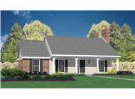 Main image for house plan # 8019