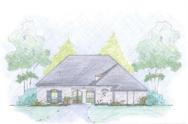 3-Bedroom, 2966 Sq Ft European Home Plan - 139-1224 - Main Exterior