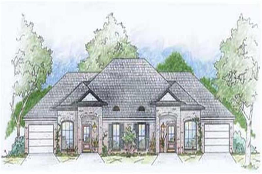 Main image for house plan # 9644