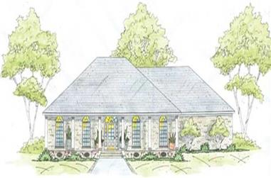 3-Bedroom, 2405 Sq Ft House Plan - 139-1229 - Front Exterior