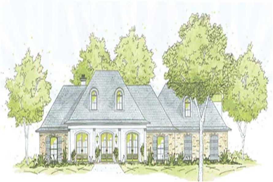Main image for house plan # 9646