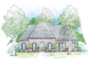 5-Bedroom, 2349 Sq Ft House Plan - 139-1231 - Front Exterior